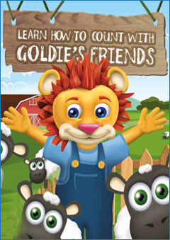 Learn How To Count With Goldie's Friends Book Cover
