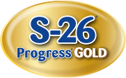 S-26 Progress Gold® logo